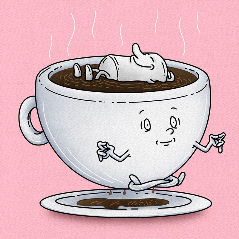 Coffee Cup Yoga